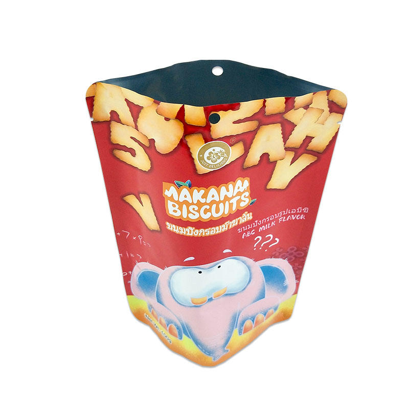 Custom food pouches printed plastic food bags plastic pouches for food packaging