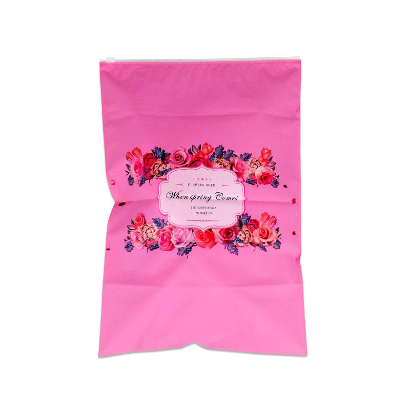 Reusable ziplock bag target leak proof ziplock bags zip lock bags for packing clothes cloth packaging bags