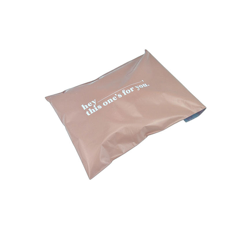Packaging bag with logo custom clothing poly bags frosted bag
