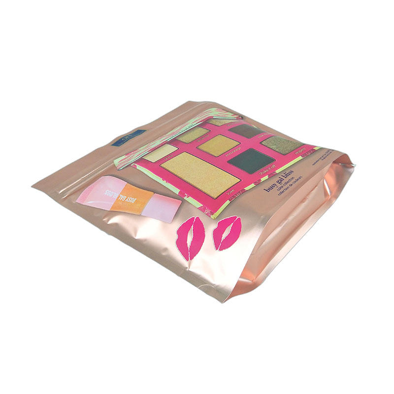 High quality stand up pouch plastic bag biodegradable cosmetic packaging composite packaging bag