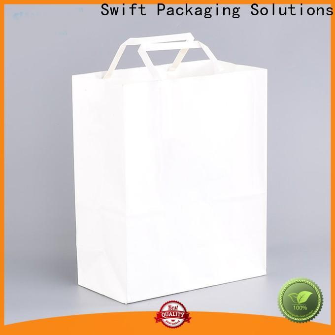 SWIFT wholesale custom paper bags manufacturer for jacket