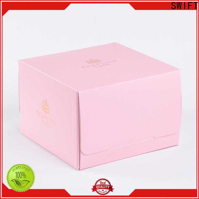 SWIFT latest cardboard food containers manufacturer for cake