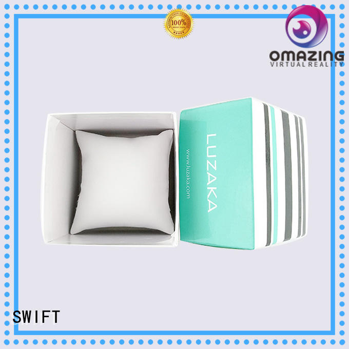 watch printing luxury diy SWIFT Brand cardboard jewelry gift boxes supplier