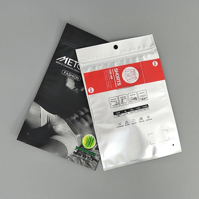 printing plastic packaging bags wholesale directly sale for underpants-3