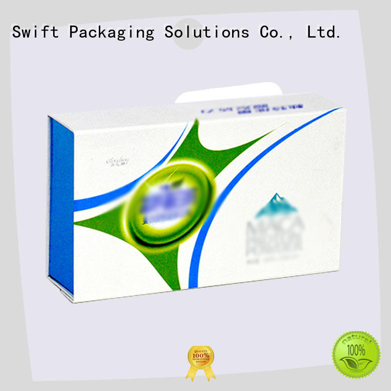 SWIFT cardboard food packaging manufacturer for chocolate
