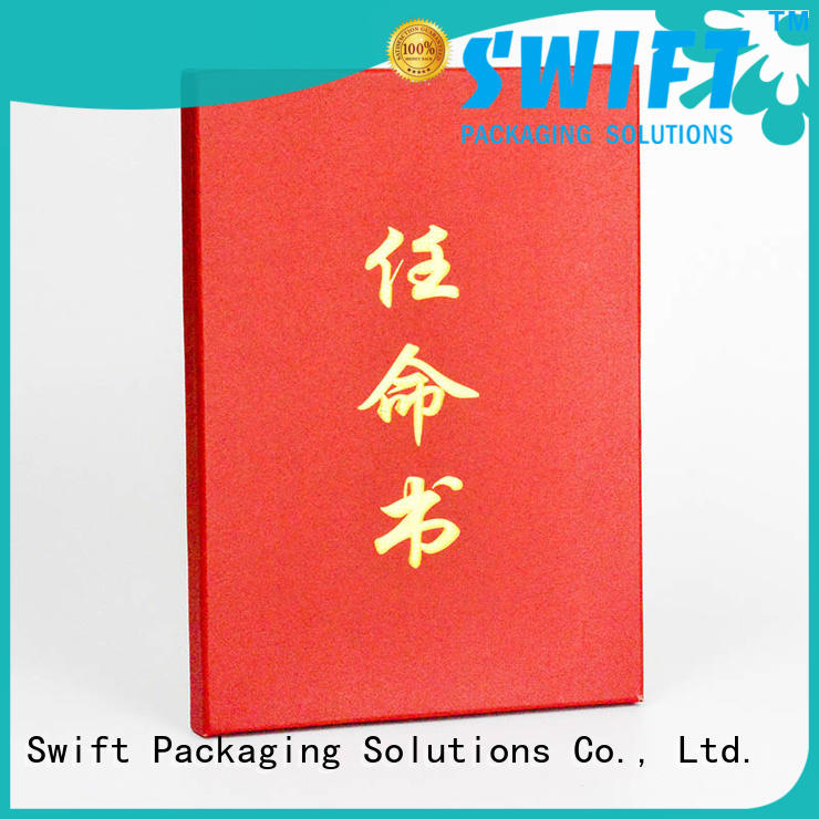 SWIFT cardboard gift boxes directly sale for holiday