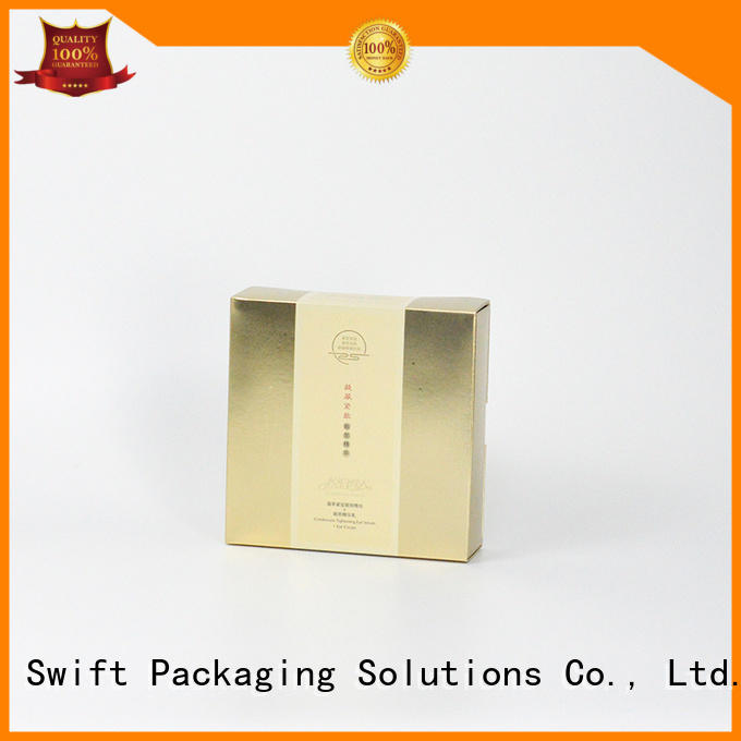 containers packaging wholesale cream paper SWIFT cosmetic packaging boxes