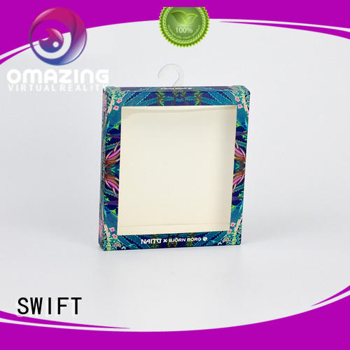 SWIFT boxes underwear packaging boxes selling box