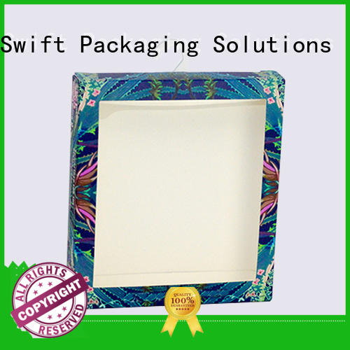 SWIFT product packaging boxes customized for children