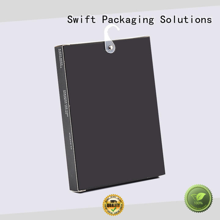 SWIFT recycled paper product packaging boxes with good price for ladies
