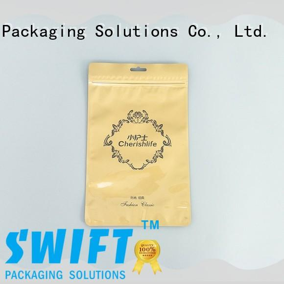 SWIFT colorful personalized plastic bags factory price for underwear