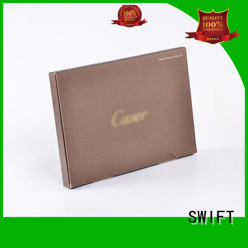 Hot shirt boxes wholesale paper clothing packaging boxes window SWIFT