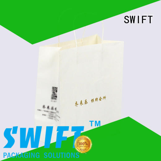 SWIFT paper gift bags with handles factory for birthday