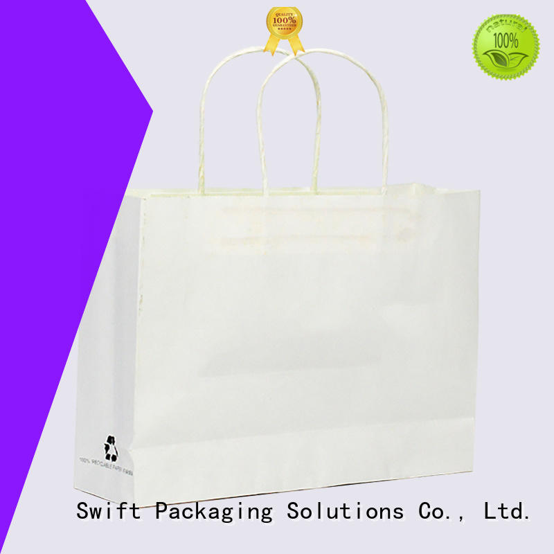 SWIFT paper gift bags wholesale customized for holiday