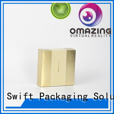 packaging wholesale deluxe paper drawer SWIFT makeup packaging boxes