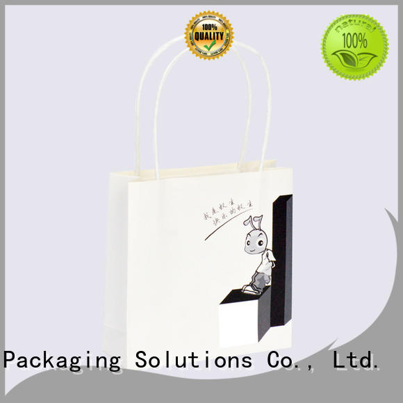 recycle paper gift bags wholesale customized for Christmas