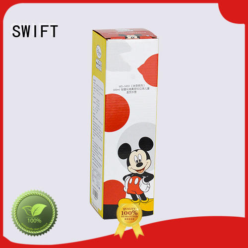 SWIFT lovely wine gift box cardboard directly sale for holiday
