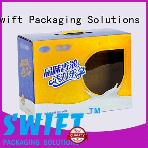 SWIFT folding cardboard food boxes factory price for chocolate