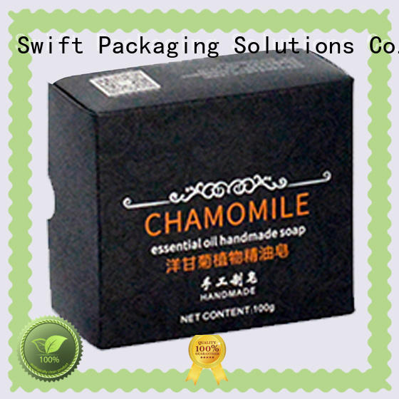 SWIFT thick cosmetic packaging boxes wholesale for face cream