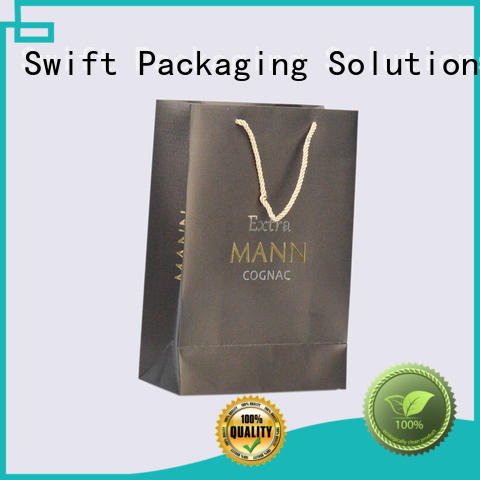 SWIFT paper carrier bags factory price for t shirt
