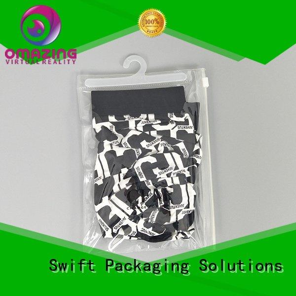 clear printed clear plastic garment bags wholesale SWIFT