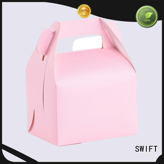 SWIFT corrugated cardboard food containers manufacturer for dessert