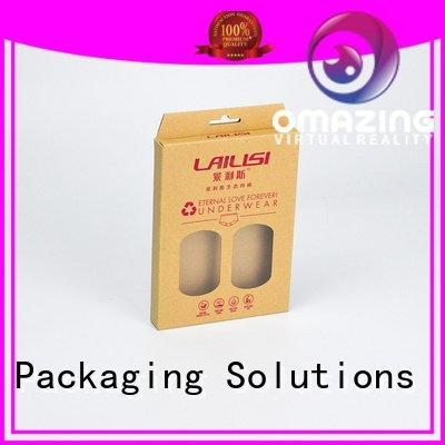 Hot underwear packaging box underwear paper highend SWIFT Brand