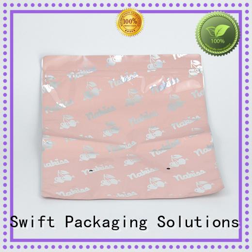 SWIFT stylish plastic t shirt bags for t shirt