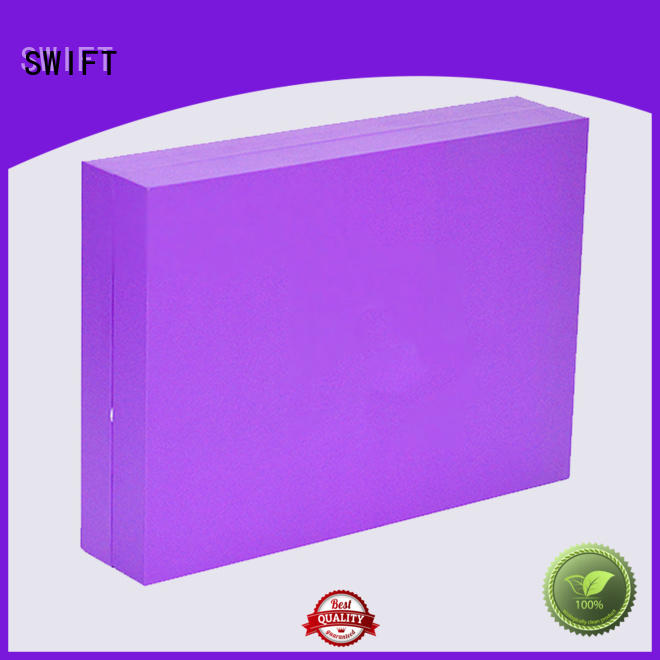 SWIFT silver cosmetic boxes wholesale customization for skin care products