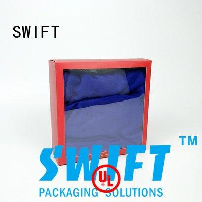 SWIFT Brand hook shirt boxes wholesale oemodm quality