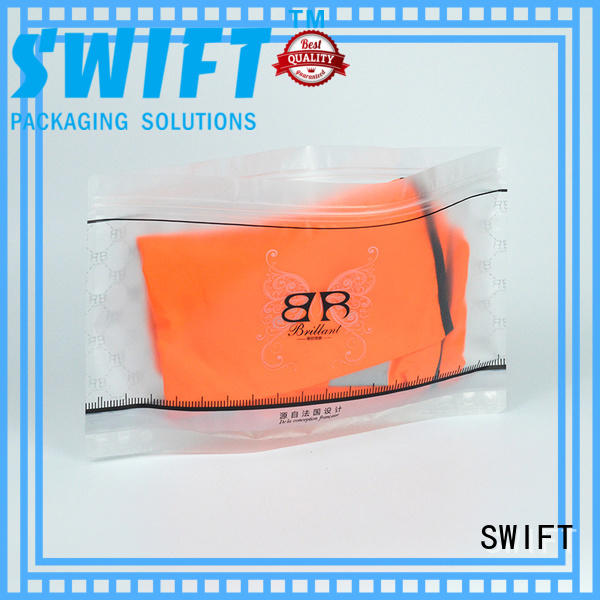 SWIFT stylish plastic bags for clothes factory price for garment