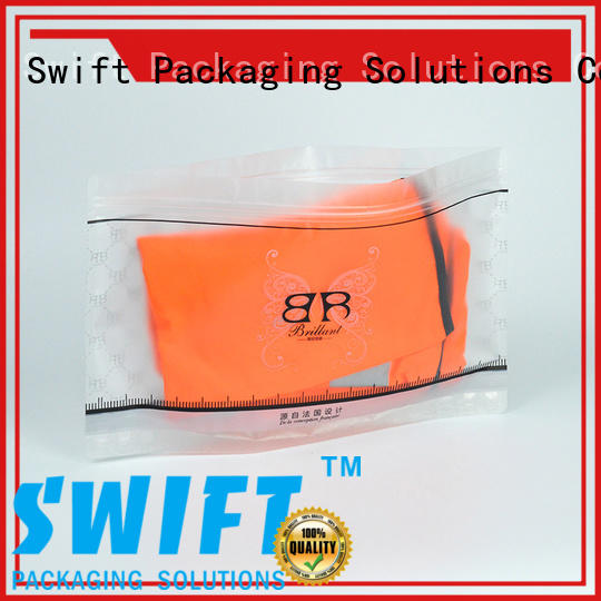 SWIFT stylish cloth packaging bags manufacturer for swimwear