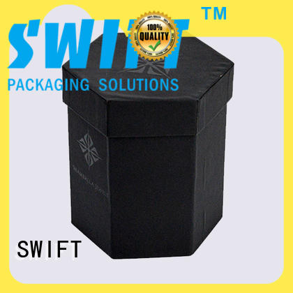 SWIFT lovely wine gift box cardboard directly sale for birthday