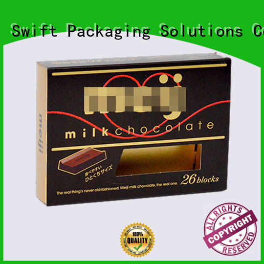 SWIFT printing cardboard food packaging customized for cake