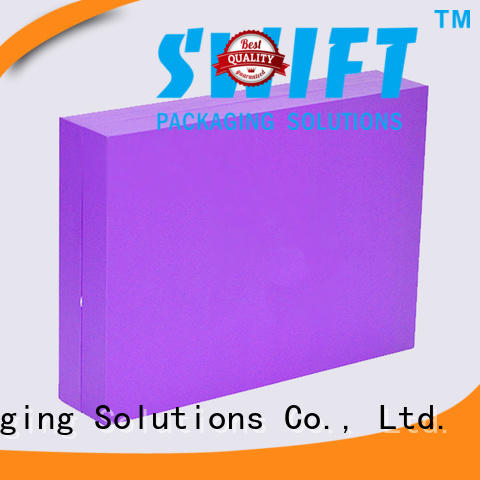 SWIFT coated paper cosmetic boxes wholesale with good price for skin care products