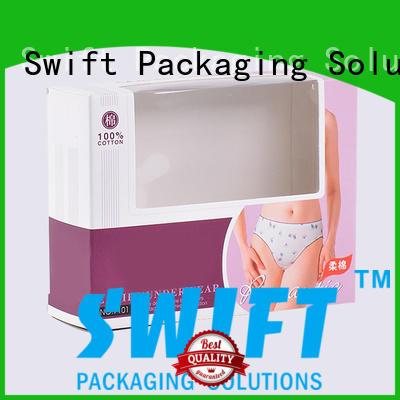 SWIFT underwear packaging boxes supplier for men
