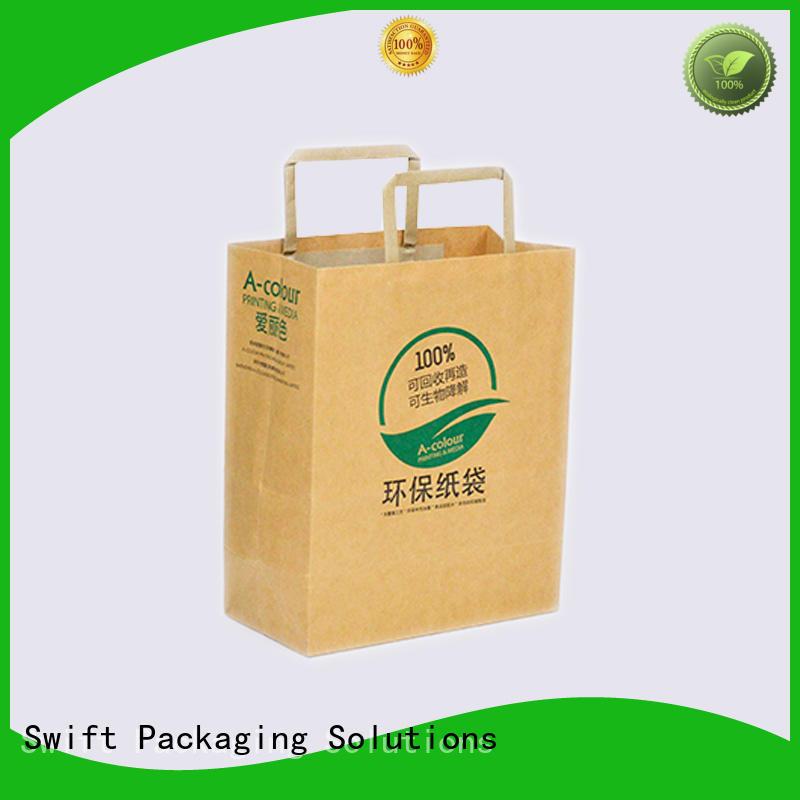 zip lock paper shopping bags manufacturer for t shirt