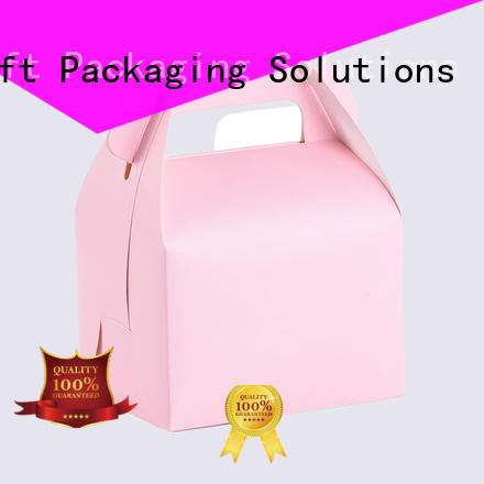 SWIFT folding cardboard food packaging with good price for dessert