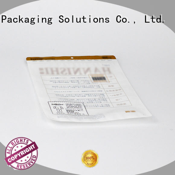 SWIFT cloth packaging bags supplier for jacket