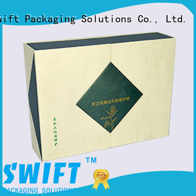 SWIFT printing cardboard gift boxes with lids directly sale for Christmas