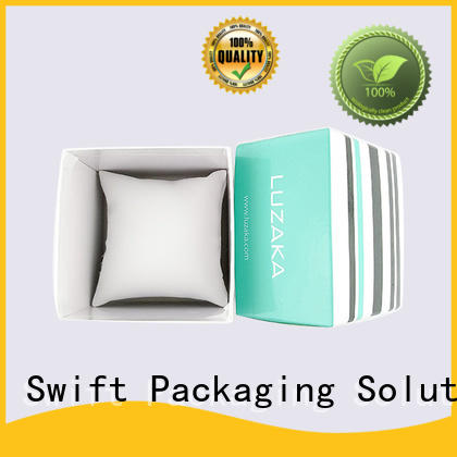 SWIFT high quality custom jewelry packaging supplier for earrings