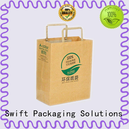 SWIFT printing paper shopping bags directly sale for pants