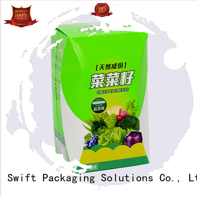 SWIFT Brand handle packaging food safe cardboard boxes pie supplier
