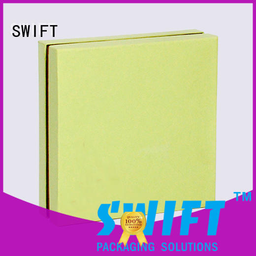 SWIFT colorful cardboard gift boxes wholesale directly sale for Christmas