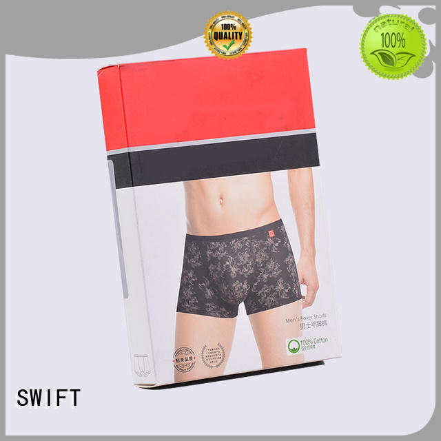 SWIFT product packaging boxes customized for men