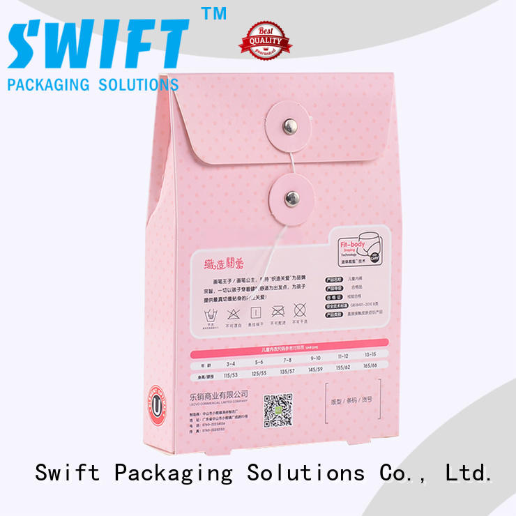 SWIFT recycled paper packaging boxes wholesale with good price for children