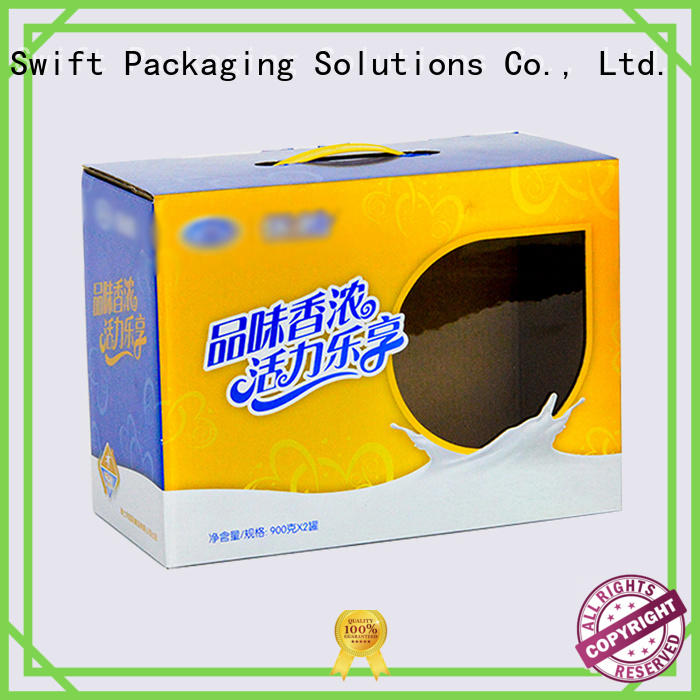 SWIFT cardboard food containers factory price for snacks