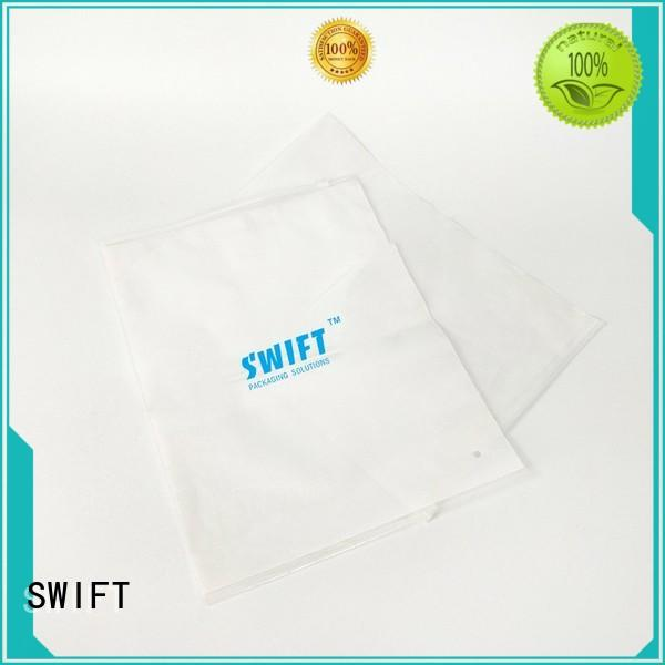 SWIFT plastic bags for clothes manufacturer for pants