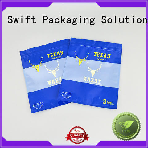 quality zip lock plastic bags with good price for underwear