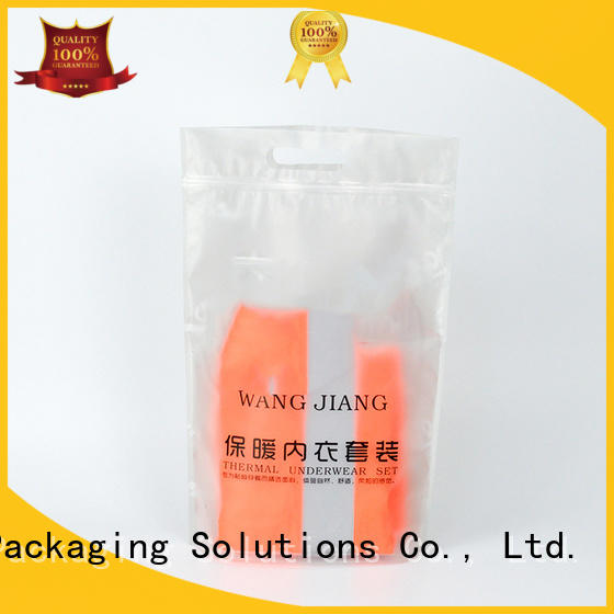 SWIFT PVC cloth packaging bags factory price for t shirt